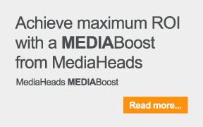 Achieve maximum ROI with MediaHeads MediaBoost